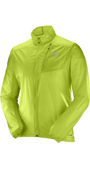 Salomon Fast Wing Jacket Men Acid Lime